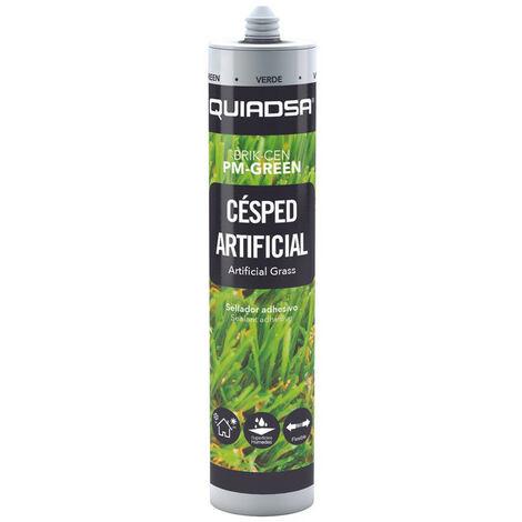 BRIK-CEN PM-GREEN Pegado y sellado elástico de alta resistencia cesped artificial. Verde