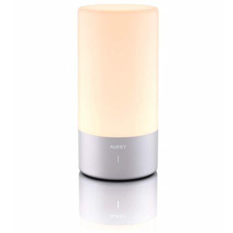 AUKEY Lámpara de mesa con control táctil 360 ° LT-T6 (gris)