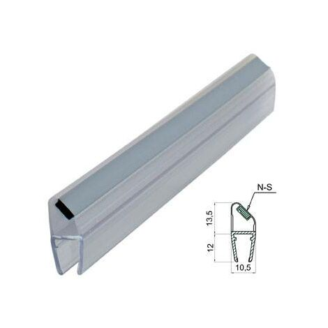 Perfil Magnético Mampara Baño/Ducha Micel 45º N-S/6-8mm/2MT