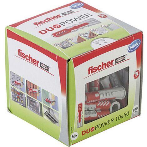 Chevilles bi-matière Duopower FISCHER - plusieurs modèles disponibles