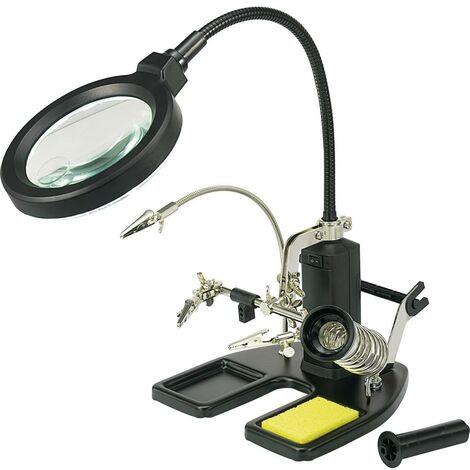 Lampe loupe de table TOOLCRAFT 826054
