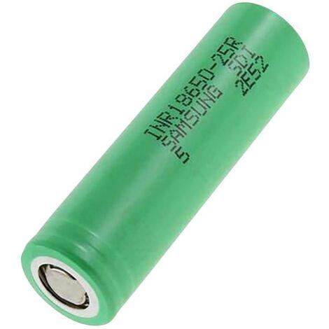 Pile rechargeable spéciale 18650 Samsung INR18650-25R résiste aux courants élevés, résiste aux températures élevées, à