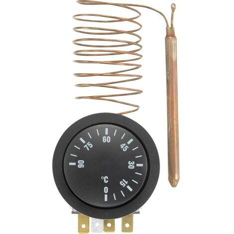 Thermostat encastrable Basetech Y304958C 0 à 90 °C