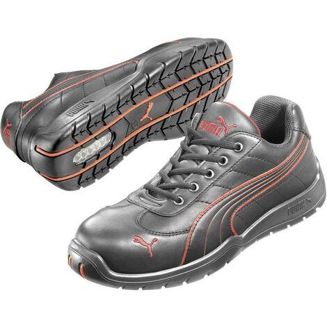 Chaussures montantes de sécurité S3 PUMA Safety Fulltwist Mid HRO SRC 633160 42 Taille: 42 noir, rouge 1 paire(s)