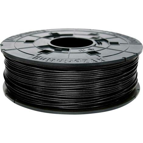 Filament XYZprinting ABS Filament Black 600g Refill ABS 1.75 mm noir 600 g