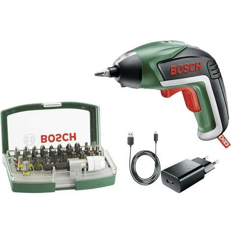 Bosch Home and Garden IXO V 06039A800S Visseuse sans fil 3.6 V 1.5 Ah Li-Ion + batterie, + accessoires