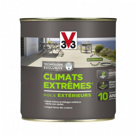 Peinture sols extérieurs Climat Extrême satin 0,5L (teinte au choix) V33 - plusieurs modèles disponibles