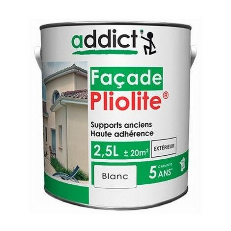 Peinture façade pliolite 2,5L - Ton: Pierre