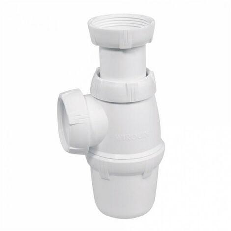 Siphon d'évier réglable 58 à 105 mm