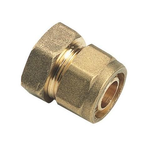 "Raccord à compression tube PER Ø25 - Femelle fixe 1"" (26/34) - Somatherm"
