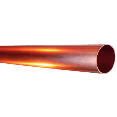 Tube cuivre écroui Ø20x22 - barre de 4m