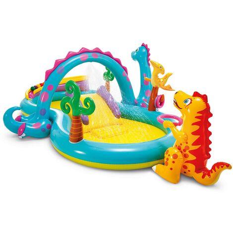 INTEX 57135 - 'Play Center' dinosaures cm 333x229x112