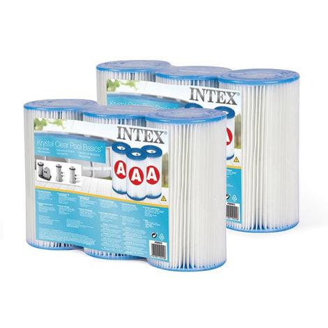 6 cartouches de filtration A - Intex