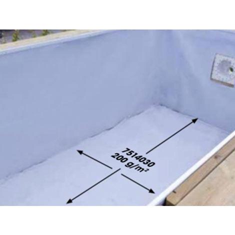 Feutre de protection pour le fond de la piscine - Ubbink