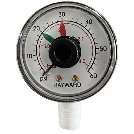 Manomètre pour filtres à sable Top ou Side - Hayward