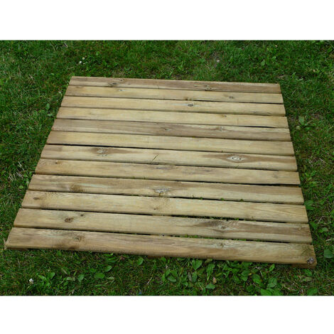 Piastrella zigrinata 100x100 Pino Impregnato 3,2 cm - Pavimento da esterno