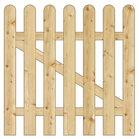 Onlywood Cancelletto NICE Legno PINO IMPREGNATO cm 100 x 100 altezza