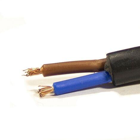 Mtr Manguera 2X1,5 mm. FLEXIBLE PVC RV-K 0,6/1KV -CPR-