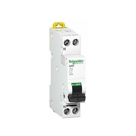 Automatico Magnetotermico SCHNEIDER DPN A9P53610 ESTRECHO I+N 10 Amps. Curva C