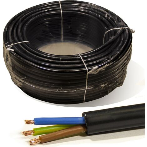 Rollo 100 mtrs. Manguera 3X1,5 mm² FLEXIBLE PVC RV-K 0,6/1KV