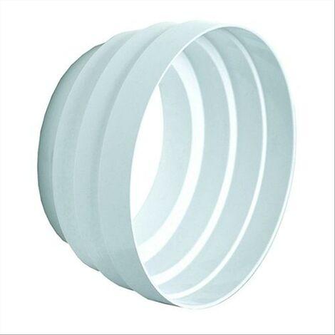 La ventilazione riduzione aeraz. d.mm.100-120-125