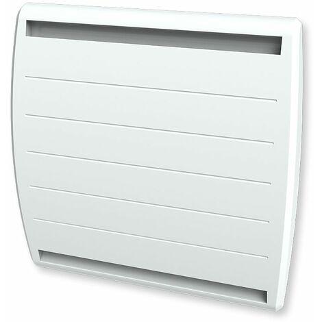 Cayenne radiateur à interie double coeur fonte + film 1000W galbé LCD - Blanc