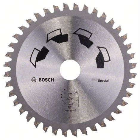 BOSCH 2609256884 Hoja de sierra circular SPECIAL Ø 130 mm