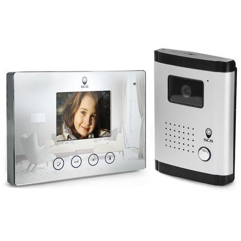 Interphone vidéo 4 fils, Fonction miroir, Fonction miroir
