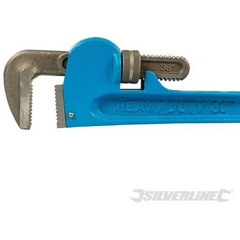 Llave para tubos Stillson Expert (Longitud 900 mm - Mordaza 85 mm)
