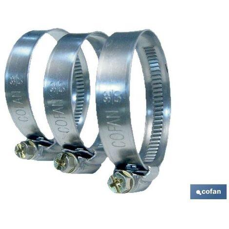 PLIMPO abrazadera metálica banda 9mm 20-32 caja 100 unid.