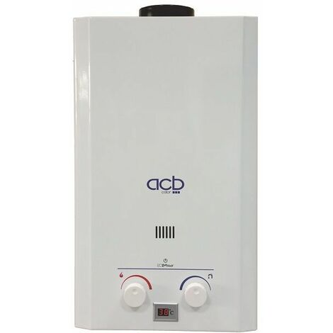Calentador de agua a gas 10 litros ACB GAS NATURAL