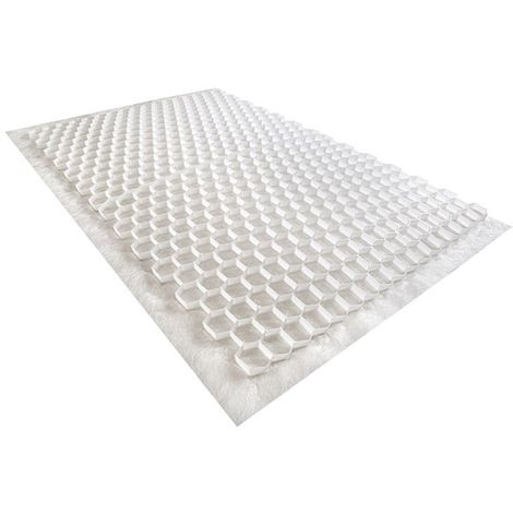 Gravel stabilizer - White - 120 X 80 X 2cm - Rinno Gravel Unit