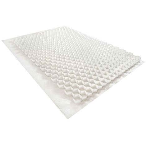 Gravel stabilizer - White - 120 X 80 X 3cm - Rinno Gravel Unit