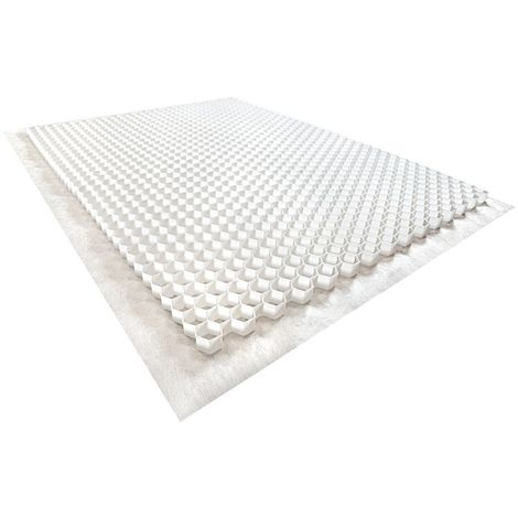 Gravel stabilizer - White - 120 X 160 X 4 cm - Rinno Gravel Unit