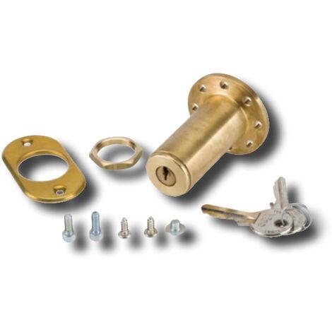faac desbloqueo externo con llave para puertas espes max 15 mm 424560001/36