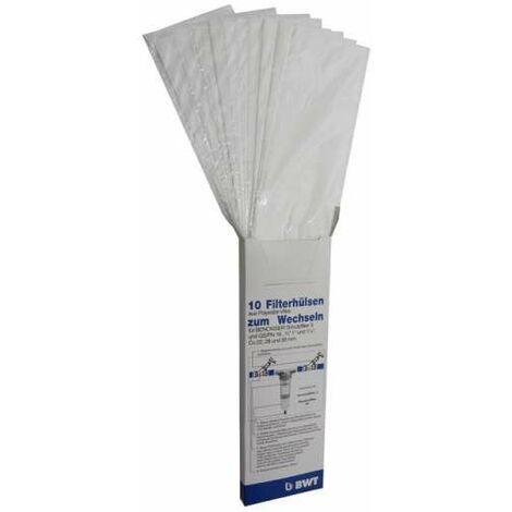 """BWT Filterhülsen (10 Stk.) für Filter S und GS 3/4"""" - 1"""" - 1/4"""" in Wechselbox 10999E"""