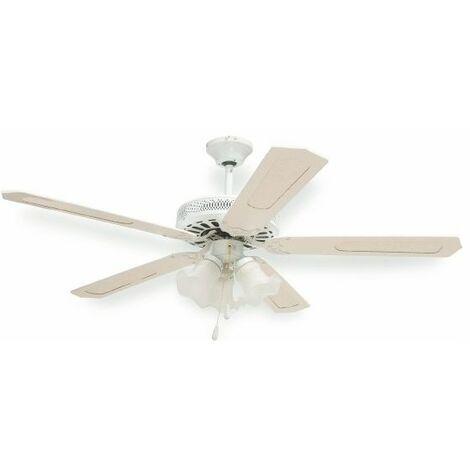 Ventilatore Soff.130Cm 5 Pale C/3 Luci 3 Vel Windy