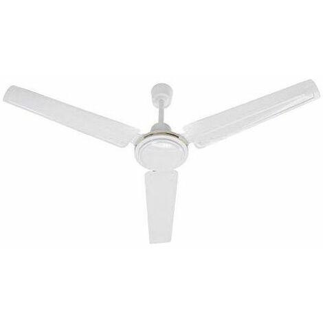Divina Air Ventilatore Da Soffitto 3 Pale Senza Luce D.120 Cm Bianco DA54010