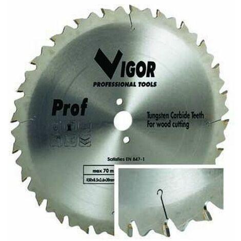 Lame Circolari Vigor Legno 36 Denti Widia F30 mm.400
