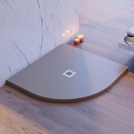 Piatto doccia stondato pietra ardesia sabbia mineral marmo