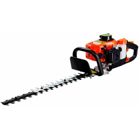 Varan Motors - TT-HT230B Cortasetos de gasolina 25.5cc 1.5CV 99dB mango giratorio - Naranja