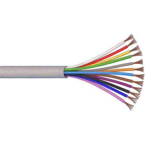 Cavo elettrico multipolare Fror 12X0,25 mmq guaina esterna grigia