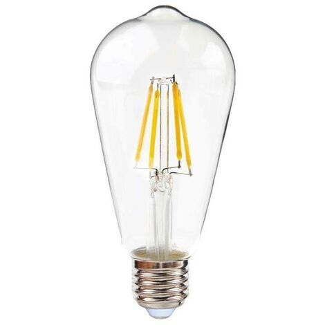 Bombilla LED de filamento vintage ST64 E27 6W