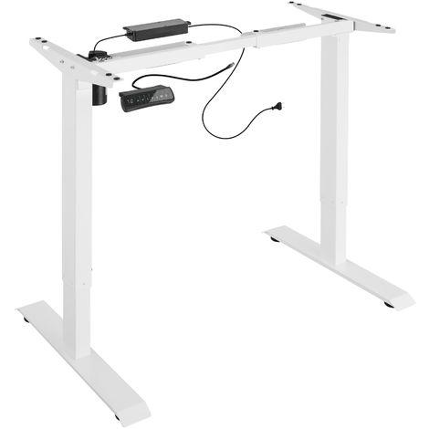 Bureau assis debout (piètement) 3 fonctions 1 moteur - pied de table reglable, bureau electrique, bureau design