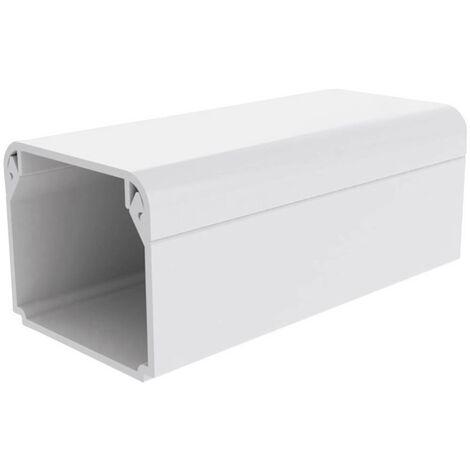 KOPOS LHD 30X25 HD Canalina passacavi Canale per installazioni elettriche (L x L x A) 2000 x 29 x 25 mm 1 pz. Bianco