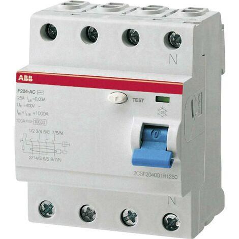 ABB 2CSF204101R1400 Interruttore differenziale A 4 poli 40 A 0.03 A 230 V/AC, 400 V/AC