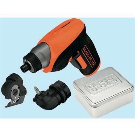 Svitavvita a batteria Black&Decker Litio CS 3652 LCCT 3,6 volt