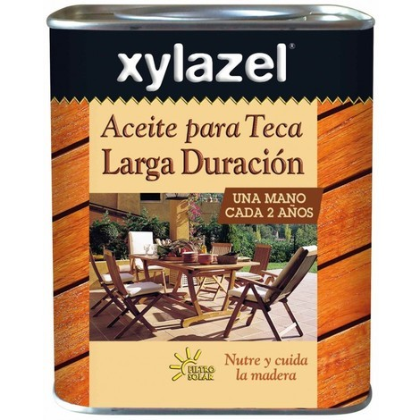 Aceite para Teca Larga duración 750 ml Xylazel