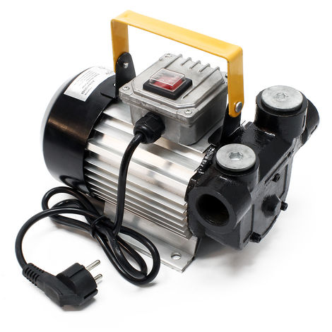 Bomba diesel autocebante para bombeo de gasoil y aceite de calefacción 230V 550W 20-60L/min