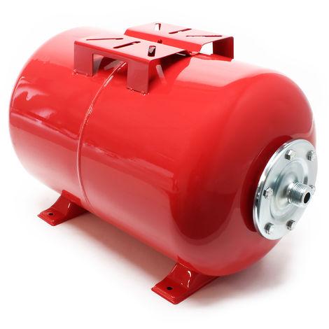 Vaso de expansión membrana EPDM 50L, depósito de presión, calderín para grupo de presión domésti